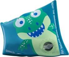 Speedo Schwimmflügel Krokodil-Jungen PVC blau/grün 2-teilig