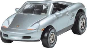 Darda 50307 Auto Porsche Boxster, Silber