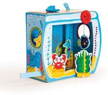Clementoni 15272 Clementoni-15272-Play Creative-Gestalte Dein Eigenes Aquarium, Mehrfarben