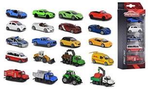 Majorette 212053166 - WOW 5 er-Set - 5 Fahrzeuge, zufällige Auswahl, keine Vorauswahl möglich