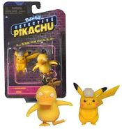 Wicked Cool Toys | Pokemon | Meisterdetektiv Pikachu | Mini Figuren Meisterdetektiv Pikachu & Enton