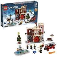LEGO 10263 Creator Winterliche Feuerwache; Bauset für Kleinkinder