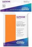 Ultimate Guard UGD010804 Supreme UX Sleeves, Orange, Standardgröße