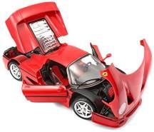 Bburago Ferrari Race and Play F50, 1:18 Maßstab, Farblich sortiert