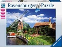 Ravensburger - Malerische Windmühle, 1000 Teile
