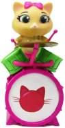 Smoby 180112 Spielfigur Pilou mit Schlagzeug, Figur aus der 44 Cats Serie, für Kinder ab 3 Jahren, Mehrfarbig