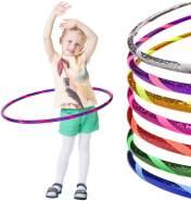 Glamour Kinder Hula Hoop Reifen Ø70cm, Violett-Pink