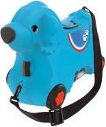 BIG - Bobby-Trolley - Kinderkoffer und Spielzeug 2 in 1, mit verstellbarem Gurt, Kindergepäck mit breiten Rädern, als Handgepäck nutzbar, für Kinder ab 3 Jahren