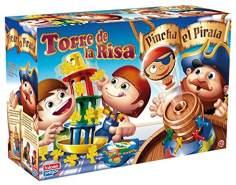 FALOMIR Piraten-Pinsel + Turm Risa Tisch. Geschicklichkeitsspiel (32-777777)