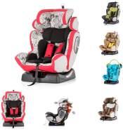 Chipolino Kindersitz 4 Max Gruppe 0+/1/2/3 (0-36 kg), Seitenaufprallschutz, Farbe:rot
