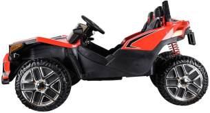 ES-TOYS Kinderfahrzeug - Elektro Auto Buggy SF01 - 2 Sitzer - 12V10AH Akku,4 Motoren- 2,4Ghz, Allrad+MP3 (Rot)