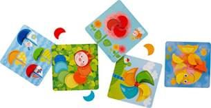 Haba 303710 Zuordnungsspiel Farbenmonde