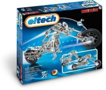 Eitech 00015 - Metallbaukasten - Motorrad / Chopper Set, 270-teilig