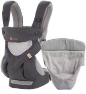 Ergobaby '360 Cool Air' Babytrage 4-Postioen Carbon Grey