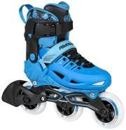 Inline-Skates Phuzion schwarz/blau Größe 33-36