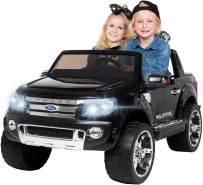 Kinder Elektroauto Ford Ranger SUV Kinderauto Elektrofahrzeug Elektro Spielzeug (Schwarz)