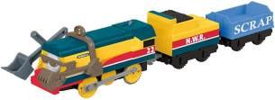 Thomas & seine Freunde FXX57 - Rebecca Zug, batteriebetriebene Trackmaster Lok, Spielzeug ab 3 Jahren