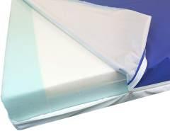 Premium Pflegematratze 90x200cm - Standard für die Heimpflege - 14cm Höhe - Unterstützend bei der Dekubitus Prophylaxe - Made in Germany - 90 x 200cm