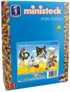 Ministeck 31327 - Tierfreunde 4in1, ca. 1.800 Teile
