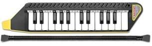 Bontempi 334262 Blasharmonika aus Kunststoff, Blanc Noir