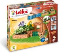 Teifoc 9010 Steinbaukästen-TEI 9010-Kleiner, Multi Color, Kleiner Garten