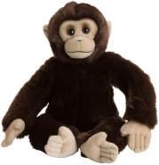 WWF WWF00352 Plüsch Schimpanse, realistisch gestaltetes Plüschtier, ca. 30 cm groß und wunderbar weich