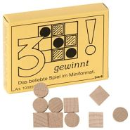 Bartl 103955 Mini-Spiel 3 gewinnt