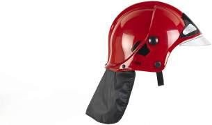 Theo Klein 8901 - Feuerwehrhelm mit Visier, Spiel, Rot