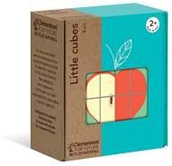 Clementoni-16224-Little Cubes-Gnam die Frutta, Mehrfarbig, 16224
