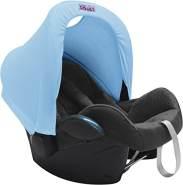 Original Dooky 126355 Haube für Autositz Gruppe 0, baby blau