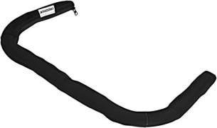Croozer Unisex– Erwachsene Schiebebügelbezug-3092016122 Schiebebügelbezug, schwarz, One Size