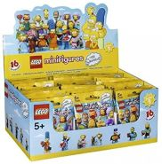 LEGO 6100812 Minifiguren: The Simpsons Serie 2 - Display - 60 Stück