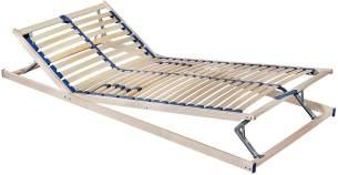MALIE Lattenrost Olympus, verstellbar, Holz, 80/200 cm