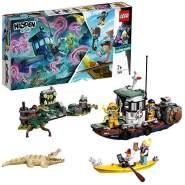 LEGO 70419 Hidden Side Gekenterter Garnelenkutter Kinderspielzeug, Augmented Reality Funktionen