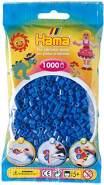 Hama 207-09 Blue Midi Beads 3000 pcs (3x1000pcs)
