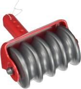 Beleduc 66053 - Strukturroller, Strandspielzeug/Sandspielzeug, rot