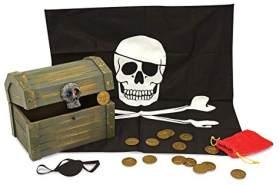 Piratenkoffer mit Zubehör 5-teilig