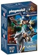 PLAYMOBIL Novelmore 70229 Novelmore Armbrustschütze mit Wolf, Für Kinder von 4-10 Jahren