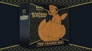 PKM SWSH04. 5 Top Trainer Box DE