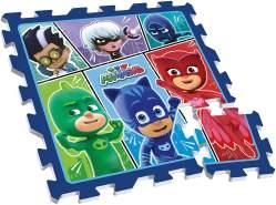 STAMP TP280001 Puzzle Play MAT PJ Masks with Bag 9 PCS