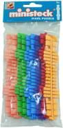 Ministeck 31666 - Farbstreifen-Set, 9 Farbstreifen (31619 - 31624)