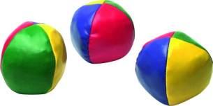 Sunflex Kinder Jonglierbälle, Mehrfarbig, One Size