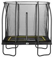 Salta 'Comfort Edition' Trampolin, schwarz, rechteckig, 305 x 214 x 269 cm, ab 5 Jahren, bis 120 kg belastbar, inkl. Sicherheitsnetz