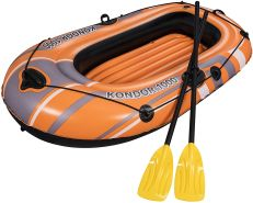 Bestway Schlauchboot-Set Kondor 1000 für 1 Person Kinder orange 155 cm