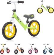 Chipolino, Laufrad Speed 12 Zoll, Gummigriff, Lenkstange Sitz höhenverstellbar grün