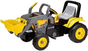 Peg Perego - Tret-Traktor Maxi Excavator Farbe: gelb-schwarz-grau