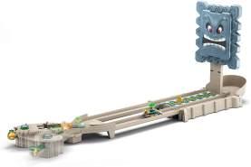 Hot Wheels GFY46 - Mario Kart Thwomp Steinblock Ruinen Trackset inkl. 1 Spielzeugauto, Spielzeug ab 5 Jahren