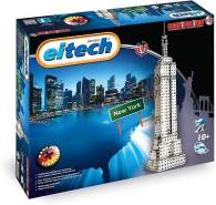 Eitech 00470 00470-Metallbaukasten-Empire State Building Set, 815-teilig, Multi Color