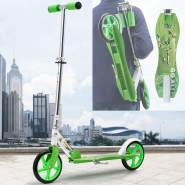 ArtSport Kinder Scooter mit Big Wheel Räder & Tragegurt - 4 Designs