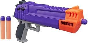 Fortnite HC-E Nerf Mega Dart Blaster – Enthält 3 Nerf Mega Fortnite Darts – Für Kinder, Jugendliche und Erwachsene
